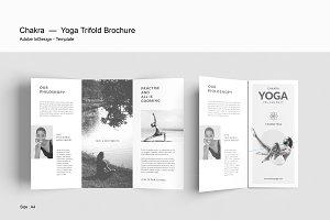 Yoga Trifold Brochure