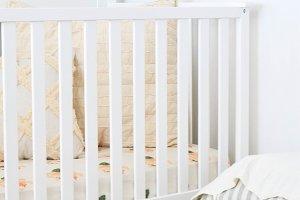 Farmhouse White Crib Photo
