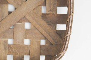 Tobacco Basket Stock Photo