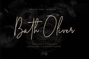 Bath Oliver Font | 40% OFF