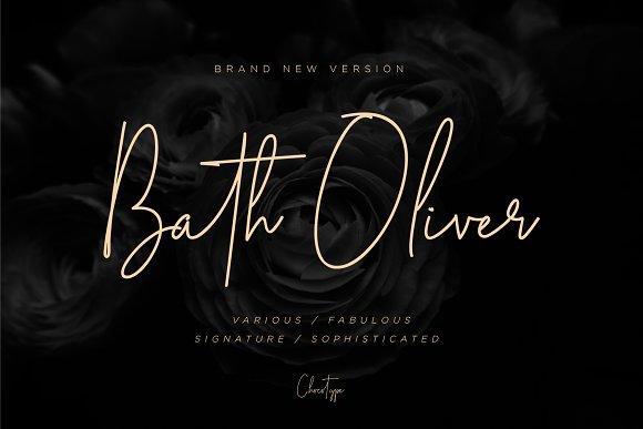 Bath Oliver Font 40% OFF