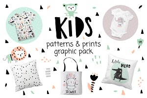 KIDS print & pattern set