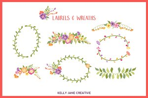 Bright Laurels & Wreaths