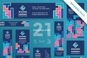 Banners Pack | Building Company