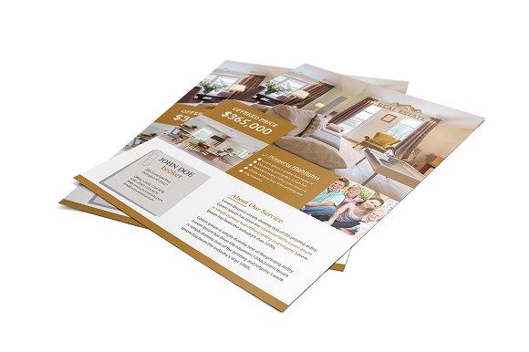 real estate rental flyer flyer templates creative market
