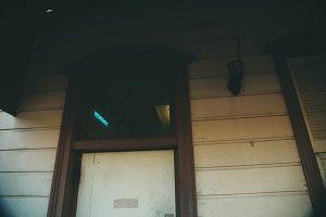Old Door And Light