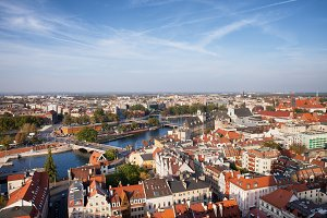 Wroclaw City in Poland