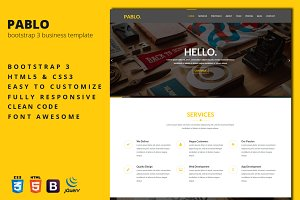 Pablo - Business Template