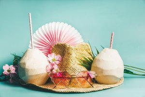 Summer beach party accessories