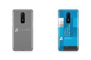 OnePlus 6 3d IMD Case Design Mockup