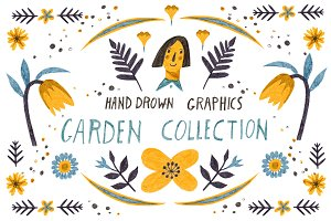HandDrawn Garden collection