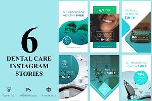 6 Dental Care Instagram Stories