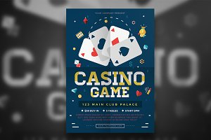 Poker Game Flyer