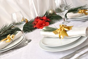 Coordinated decorative napkin