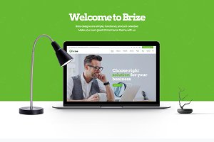 Brize - Business WordPress Theme