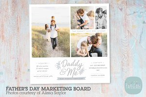 IF027 Father's Day Marketing Board