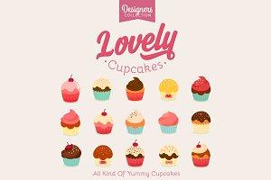 15 Yummy Cupcake icon