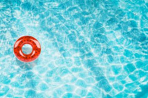 Pool float, ring floating