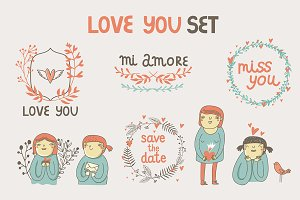 Love you set