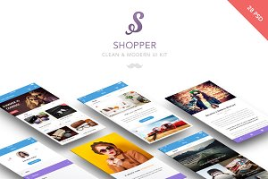 Shopper - Clean Mobile UI
