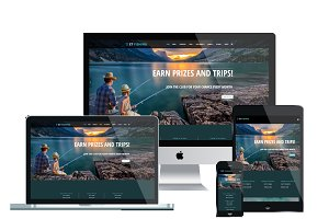 ET Fishing – Fishing Joomla Theme