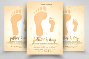 Happy Father's Day Flyer Templates