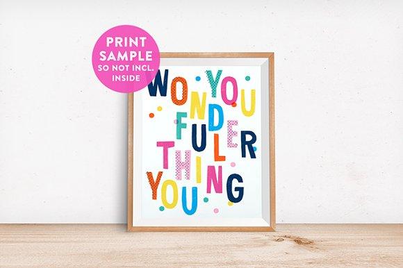 9 Framed Mockups Set in Print Mockups - product preview 3