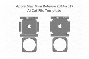 Apple Mac Mini Vinyl Skin Vector Cut