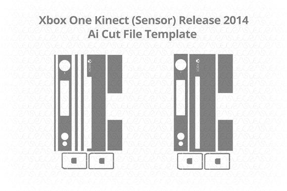 Microsoft Xbox One Kinect (Sensor)  in Illustrations