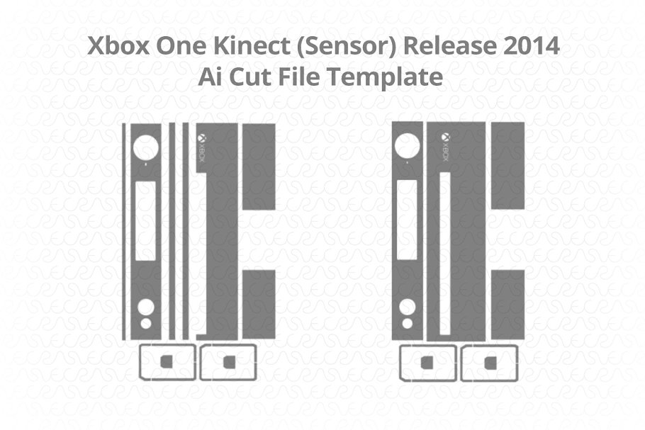 Microsoft Xbox One Kinect (Sensor)  in Illustrations - product preview 8