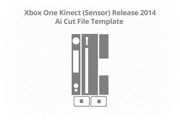 Microsoft Xbox One Kinect (Sensor)  in Illustrations - product preview 1