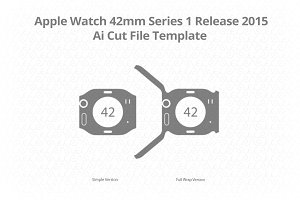 Apple Watch 42mm Series 1 Vinyl Skin