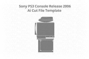 Sony PS3 Gaming Console Vinyl Skin
