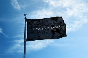 Black Lives Matter flg