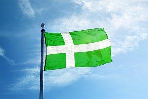 Barra Flag on the mast