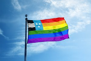 Argau rainbow flag