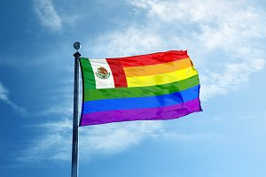 Mexico Rainbow flag