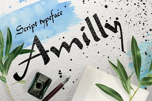 Amilly Script !! Now 40% off !!