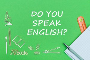 do you speak english on green board