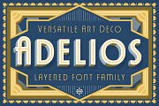 Adelios Layered Font