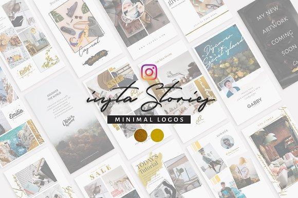 Stories And Minimal Logos