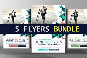 5 Marketing Agency Flyers Bundle
