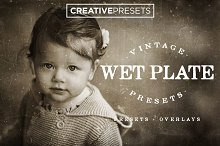 Wet Plate Lightroom Presets+Overlay by Creative Presets in Actions