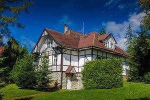 Vacation holiday house. The Tatras, Slovakia.