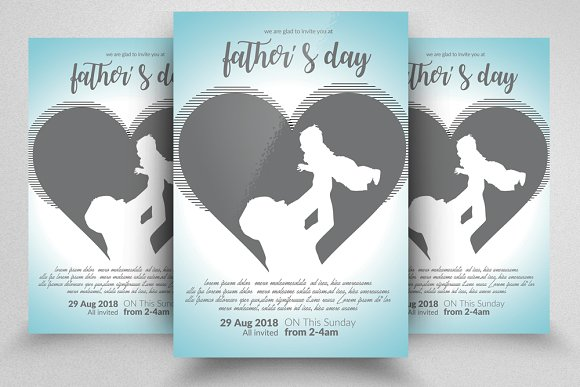 Super Daddy Father's Day Flyer