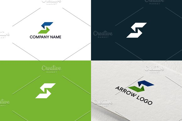 Letter S Logo Design Free UPDATE