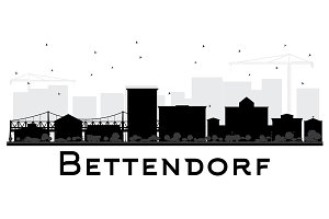Bettendorf Iowa Skyline