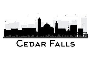 Cedar Falls Iowa skyline