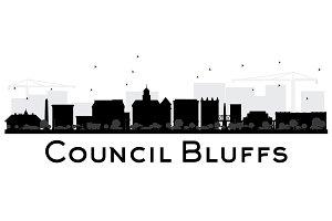 Council Bluffs skyline