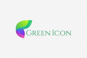 Green Icon Logo